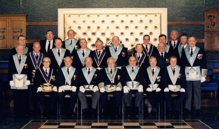 Members at the 50th Anniversary Meeting